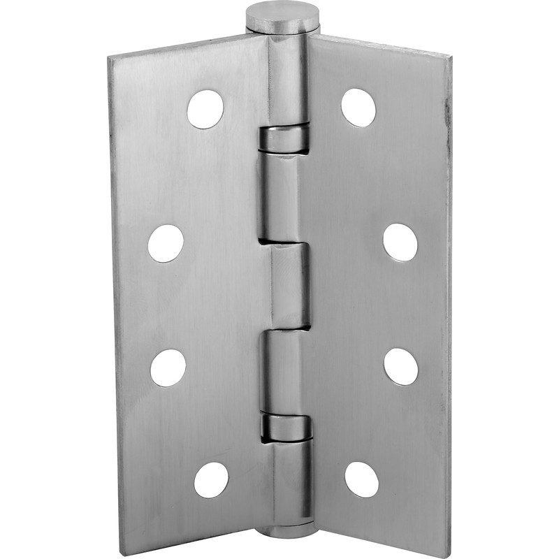Example door hinge that can be used in building a door