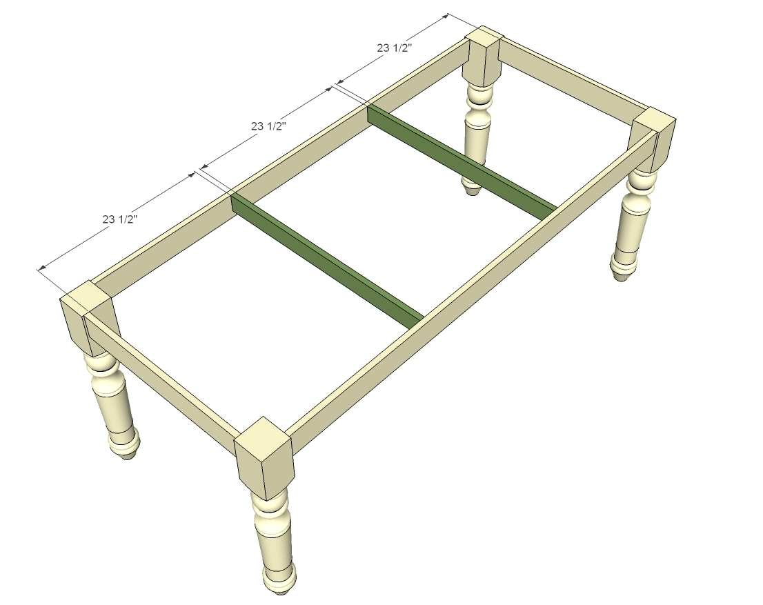 How to Make a Dining Farmhouse Table Plans blueprints – Step-by-Step DIY Guide -- Be careful to not through the tabletop
