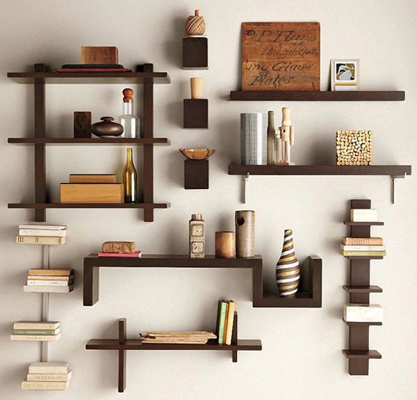 How to make a floating shelf Step-by-step DIY guide - The design of the shelf must be fully consistent with the interior of the room, otherwise, it will look like an extra item