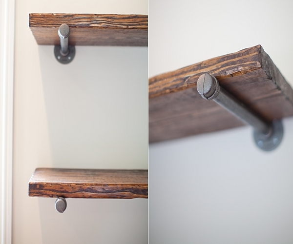 How to make a floating shelf Step-by-step DIY guide - You can always step it down and make a shelf 'floating on a stick'