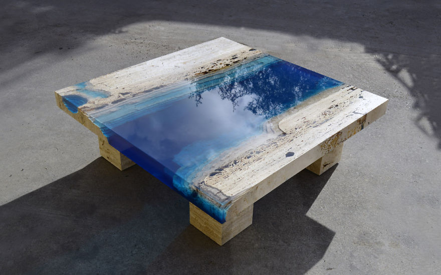 How to make a DIY Epoxy Resin Table - River Table – Step-by-Step Guide -- This one is also known as an Epoxy River Table