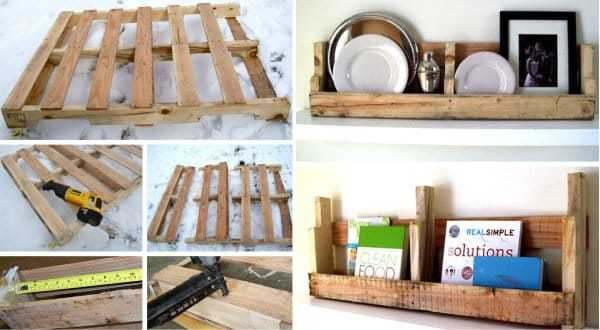 How to make a floating shelf Step-by-step DIY guide - To save yourself from frustration and save money, you can make shelves with your own hands even from old pallets