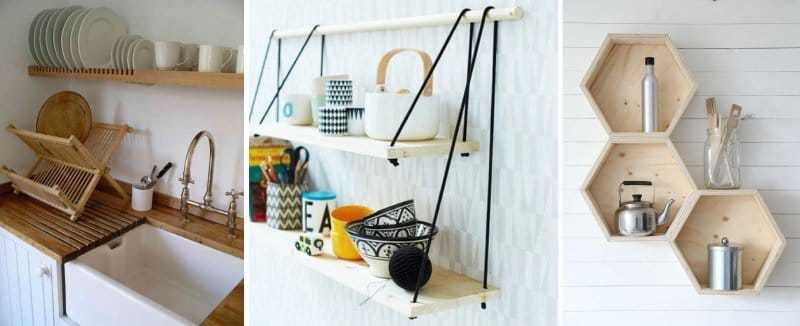 How to make a floating shelf Step-by-step DIY guide - Vintage-looking shelves and honeycomb shelves