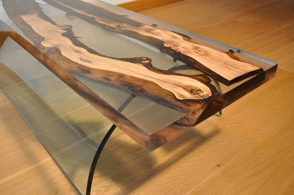 How to make a DIY Epoxy Resin Table - River Table – Step-by-Step Guide -- Here's a final result that we've got!