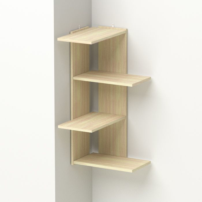 How to make a floating shelf Step-by-step DIY guide - Weird structure - yet seamless color