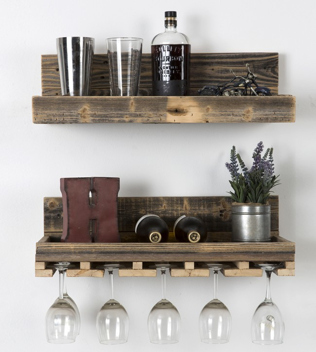 How to make a floating shelf Step-by-step DIY guide - You can find the most unexpected things in your pantry or in the attic that can be used as shelves, giving them a second life