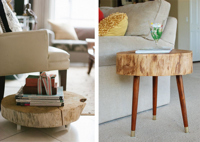 How to Make a Coffee Table -- Step-by-Step DIY Guide -- Homemade table can me as tall or as short as you need it to be