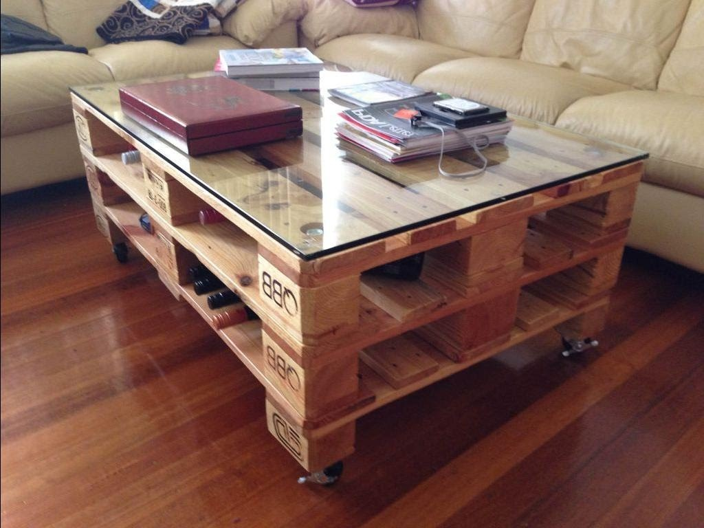 How to Make a Coffee Table -- Step-by-Step DIY Guide -- Anything can become a coffee table if you apply a little bit of imagination