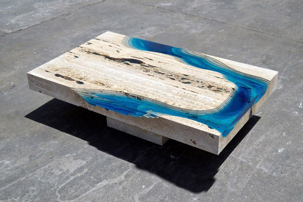 How to make a DIY Epoxy Resin Table - River Table – Step-by-Step Guide -- A little piece of a mountain river inside of your own dining table!