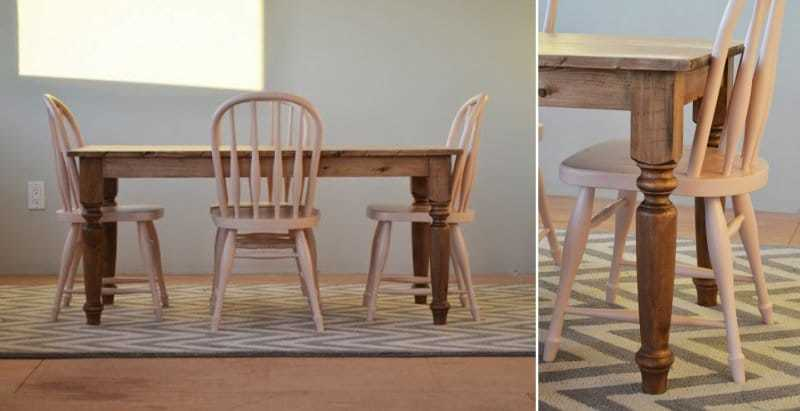 How to Make a Dining Farmhouse Table – Step-by-Step DIY Guide -- Our table will most probably go to the terrace