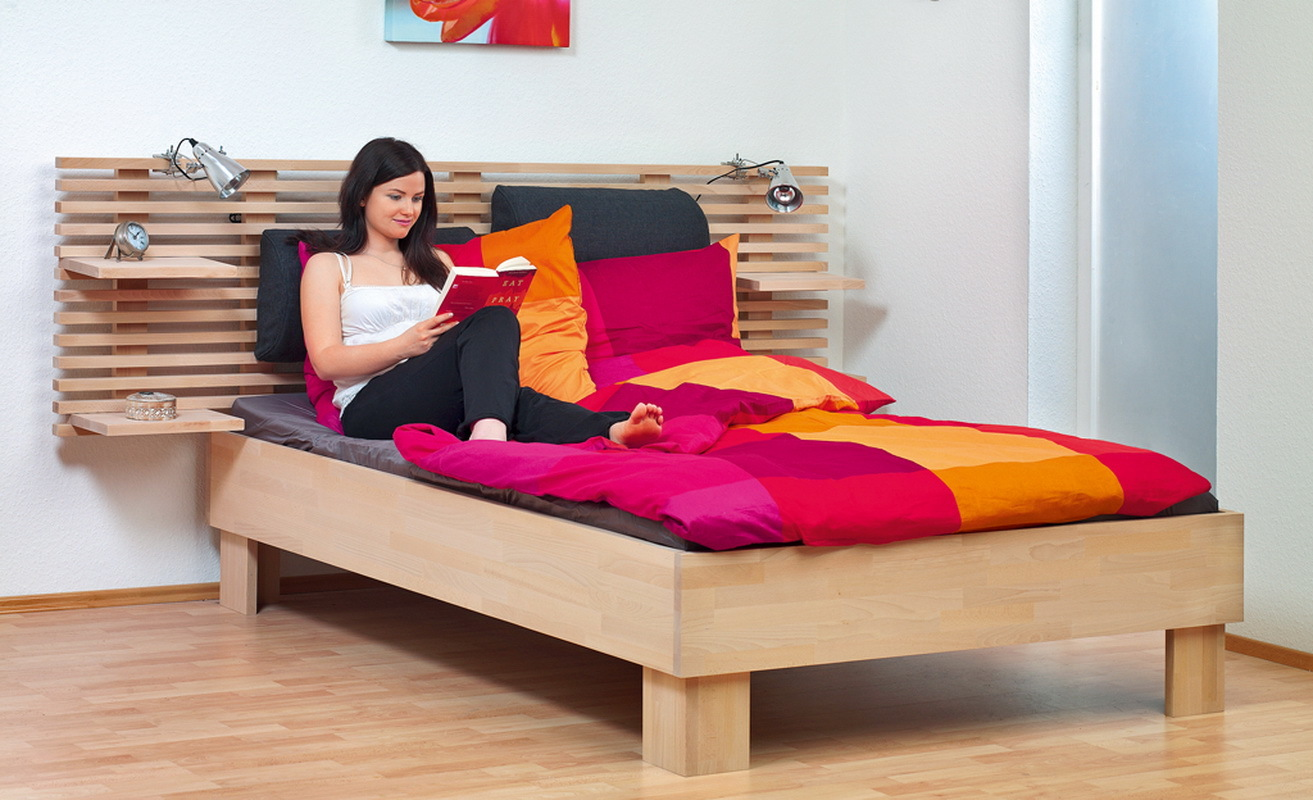 How to make a DIY bunk bed / double deck bed - Step-by-Step Guide - Beautiful and comfortable wooden bed with an interesting design for a teenage girl
