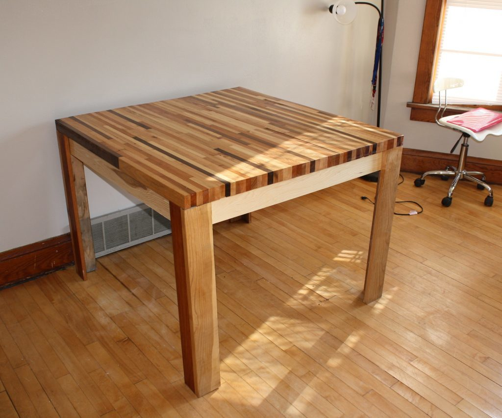 How to Make a Dining Farmhouse Table – Step-by-Step DIY Guide -- Or squared