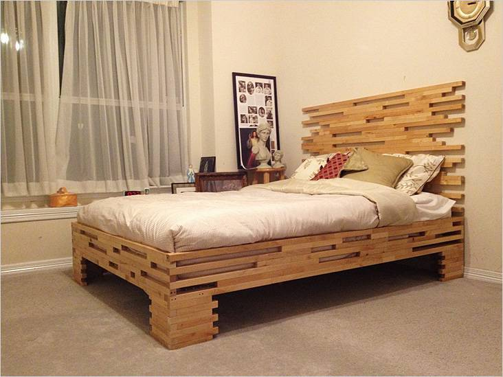 How to make a DIY bunk bed / double deck bed - Step-by-Step Guide - Unusual handmade bed