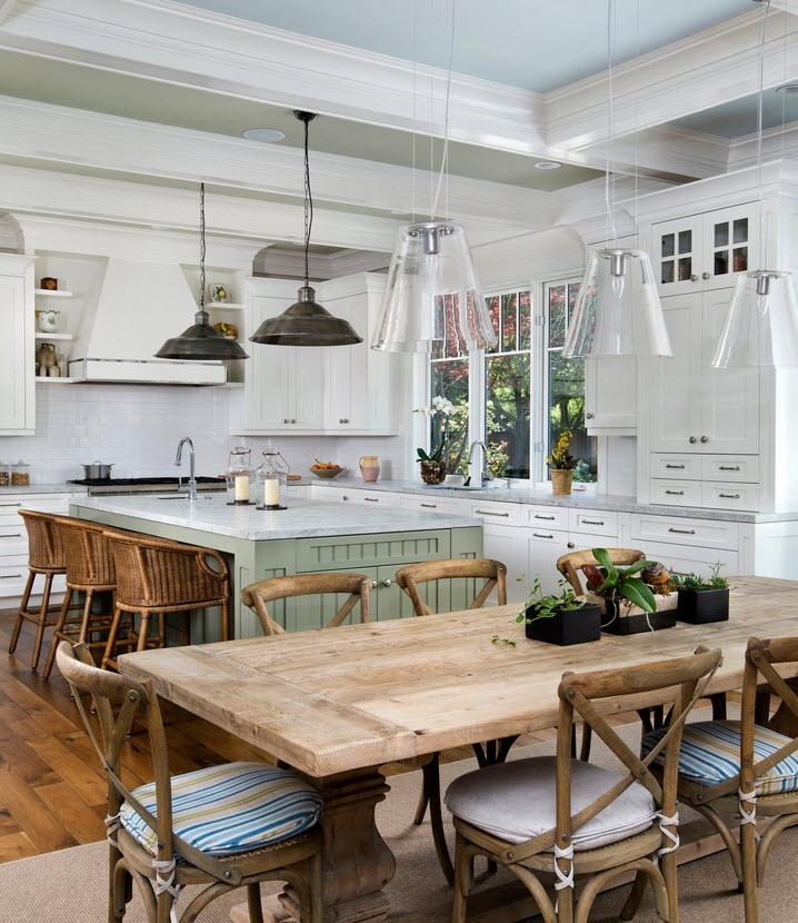 How to Make a Dining Farmhouse Table – Step-by-Step DIY Guide -- DIY Rustic Table. Simple, yet elegant