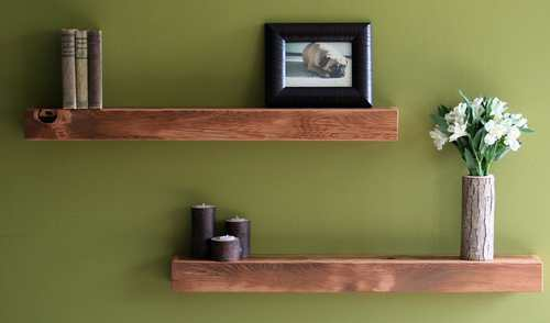 How to make a floating shelf Step-by-step DIY guide - Thicker wood costs more - but the final look is on whole another level