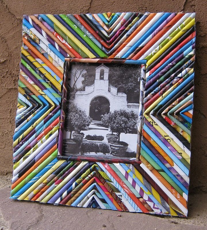 How to Make a DIY Picture Frame – Step-by-Step Guide -- Such blanks can be fixed on a cardboard or paper base
