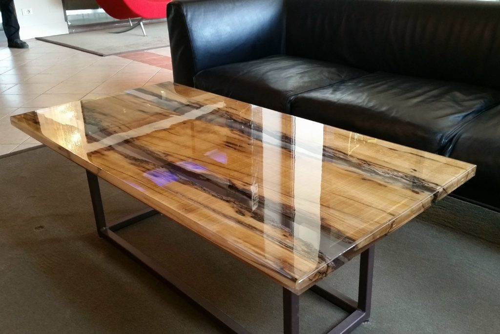 How to make a DIY Epoxy Resin Table - River Table – Step-by-Step Guide -- In the process of hardening, the synthetic composition almost does not shrink