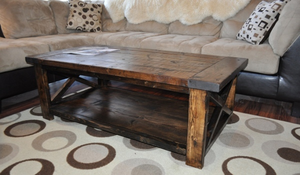How to Make a Coffee Table -- Step-by-Step DIY Guide -- Looks fragile yet elegant